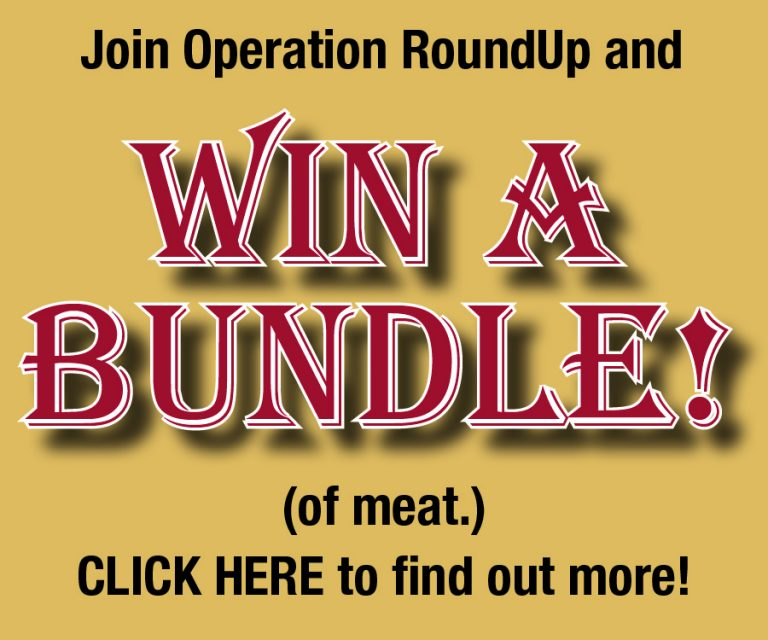 Win a bundle of meat